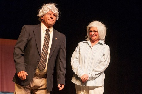 Flip Putthoff as Steve Clark and Gina King as Paula Deen.