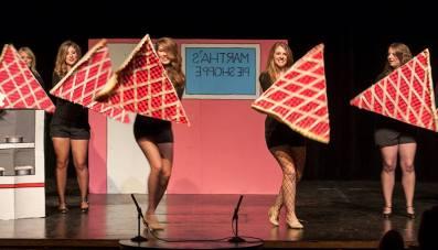 The Dancing Tarts, Channing Barker, Kayla Paine, Lauren Taylor, Jocelyn Murphy and Rebecca Soard.