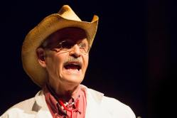 Dr. Red Neck, played by Steve Voorhies, ranted like usual.