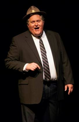 Rusty Turner as Gov. Chris Christie.