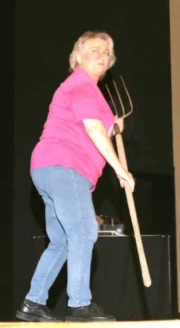 Brenda Blagg returns from the rabbit hole.