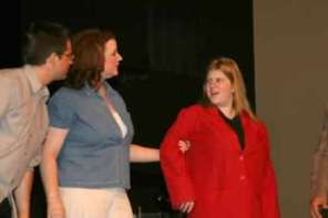 Jeff Smith, Stacey Roberts and Vivian Cummings.