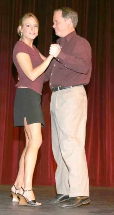 """Hailey Bonnell and Charlie Alison dancing to """"Digital Things."""""""