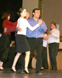 "Trysta Eakin and Richard Dean Prudenti dancing to ""Digital Things."""