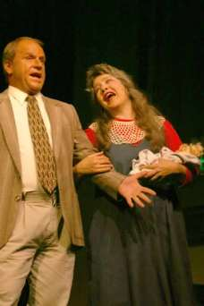 Flip Putthoff and Kim Martin as Jim Bob and Michelle Duggar