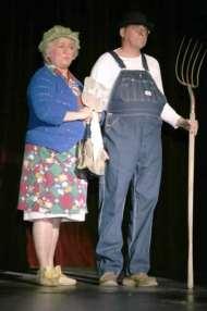 Brenda Blagg and Rusty Garrett.