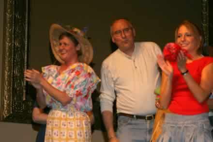 Gina King, Rusty Garrett and Hailey Bonnell.