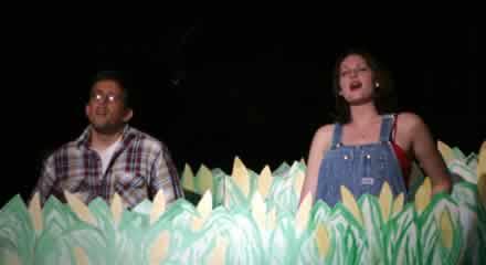 Kyle Kellams and Amy Cochran.