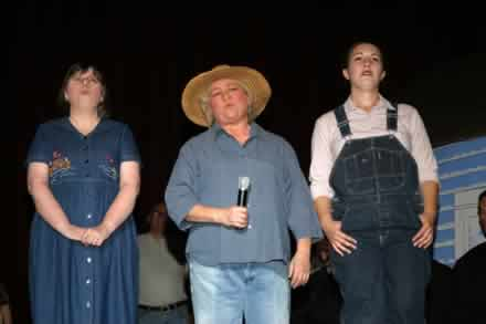Debbie Miller, Brenda Blagg and Laura Bruegge.