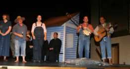 Debbie Miller, Brenda Blagg, Laura Bruegge, Charlie Alison and Greg Harton.