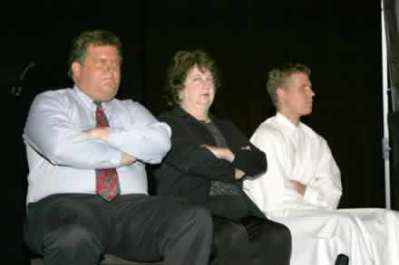 Rusty Turner, Katherine Shurlds and Dusty Higgins.