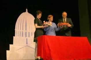 Sharla Bardin, Gina King and Rusty Garrett.