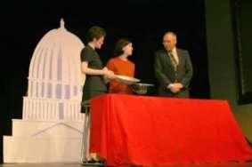 Sharla Bardin, Kristin Netterstrom and Rusty Garrett.