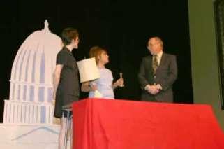 Sharla Bardin, Lewel Scherer and Rusty Garrett.