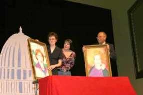 Sharla Bardin, Lana Flowers and Rusty Garrett.