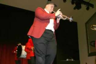 Mark Young on trumpet.
