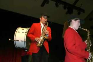 Richard Dean Prudenti on saxophone.