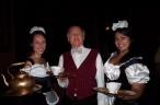 Antoinette Grajeda, Dave Edmark and Zessna Garcia, ready to serve the masses.