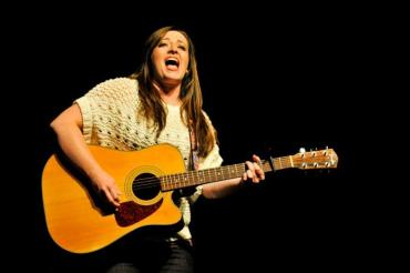 Cassidy Hodges on the guitar.