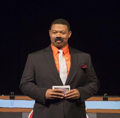 DeMarius Davis plays the host of Family Feud, Steve Harvey.
