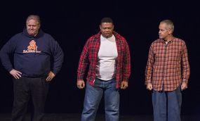 Rusty Turner, DeMarius Davis and Steve Voorhies play angry men.