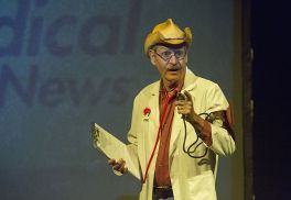 Dr. Red Neck, played by Steve Voorhies.