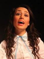 Portrait of Antoinette Grajeda in costume.