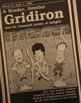 Program cover for 1989 Gridiron Show