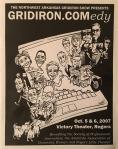Program cover for 2007 Gridiron Show