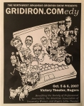 Program cover for 2007 Gridiron Show
