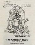 Program cover for 2004 Gridiron Show