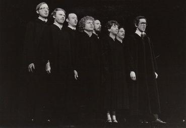 The Supreme Court, from left, Dan Mouritsen, Dave Edmark, Peter Tooker, David Speer, Rusty Garrett, Katherine Shurlds, Steve Voorhies and David Davies.