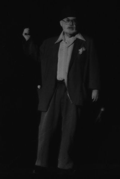 Guy Barnes as the inimitable Crock, sage of Shiloh.
