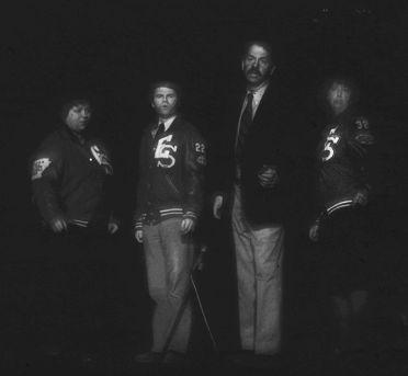 Brenda Blagg, Dave Edmark, Steve Voorhies and Katherine Shurlds portray Eureka Springs City Council members.
