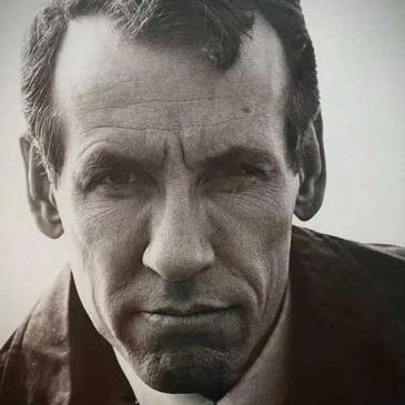 Black and white photo of Harry Marsh
